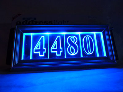 The Solar Address Light
